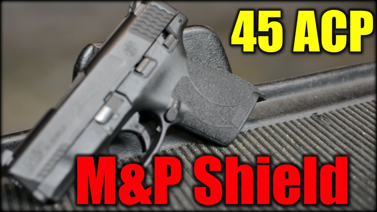 S&W M&P Shield 45 ACP| Oh Yeah!