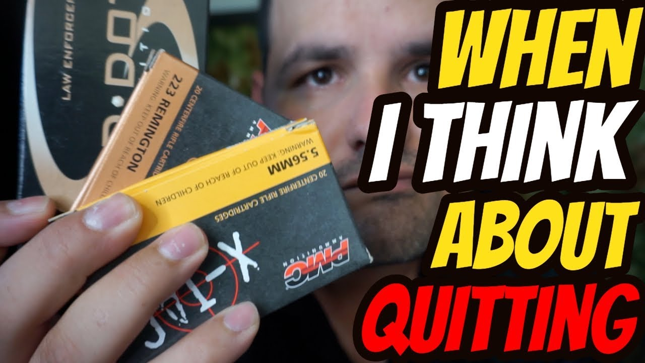 Every Time I think About Quitting Something Happens
