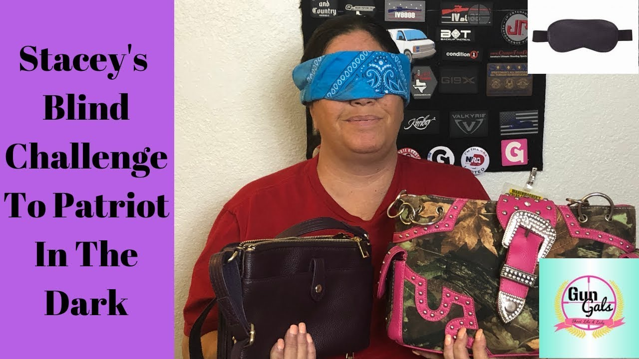 Staceys #blindchallenge #patriotinthedark conceal carry purses