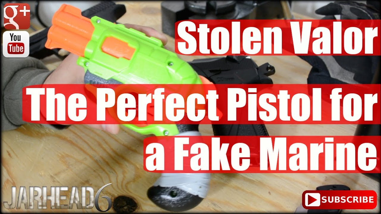 Stolen Valor: The Perfect Pistol for a Fake Marine!