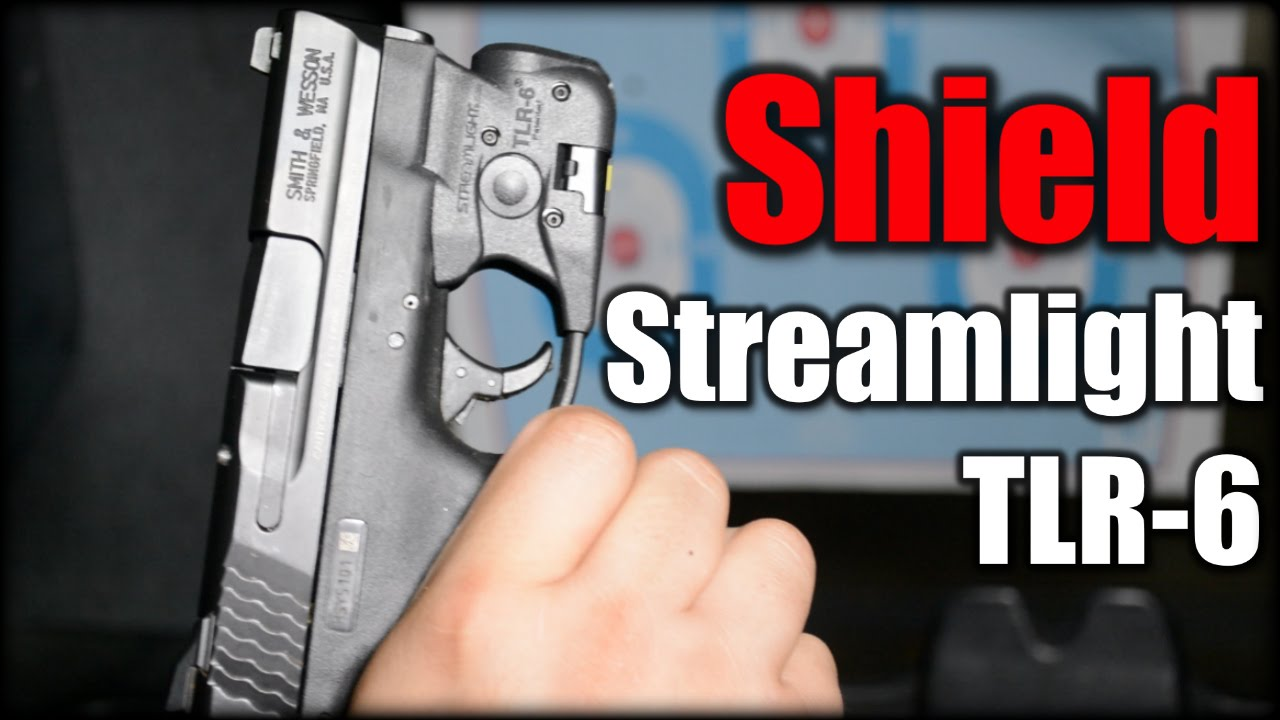 M&P Shield| Streamlight TLR-6 Range Report