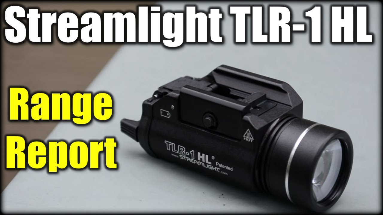 Streamlight TLR-1 HL 800 Lumens| Range Report