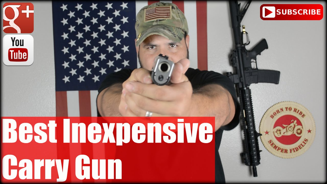 Best Inexpensive Carry Gun: Kahr CW45