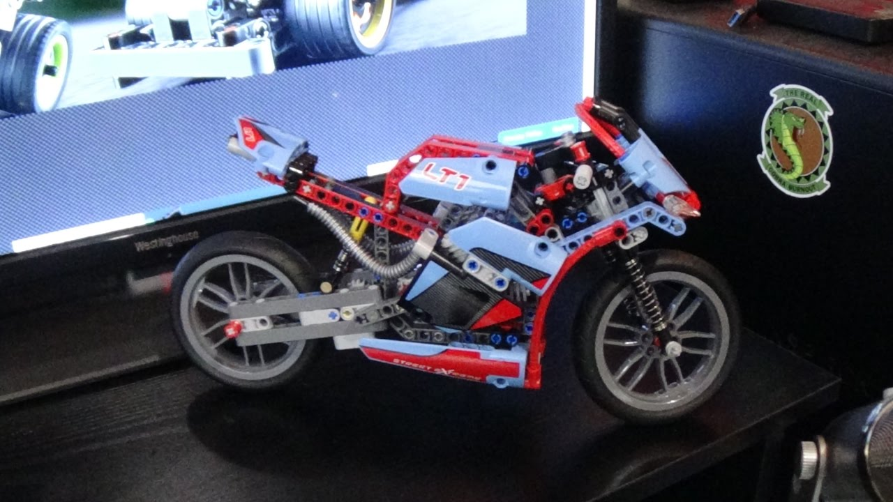 LEGO Build Street Motorcycle | Model 42036  Full Build