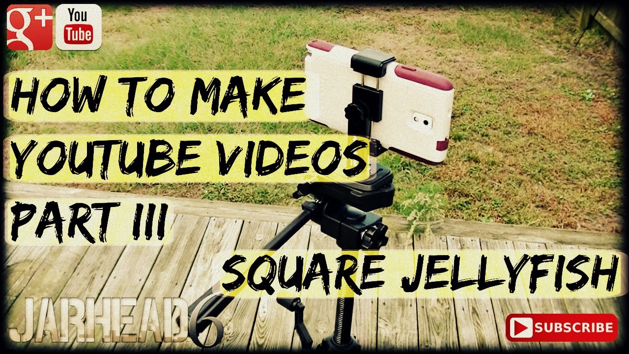 How to Make Youtube Videos Part III: Square Jellyfish