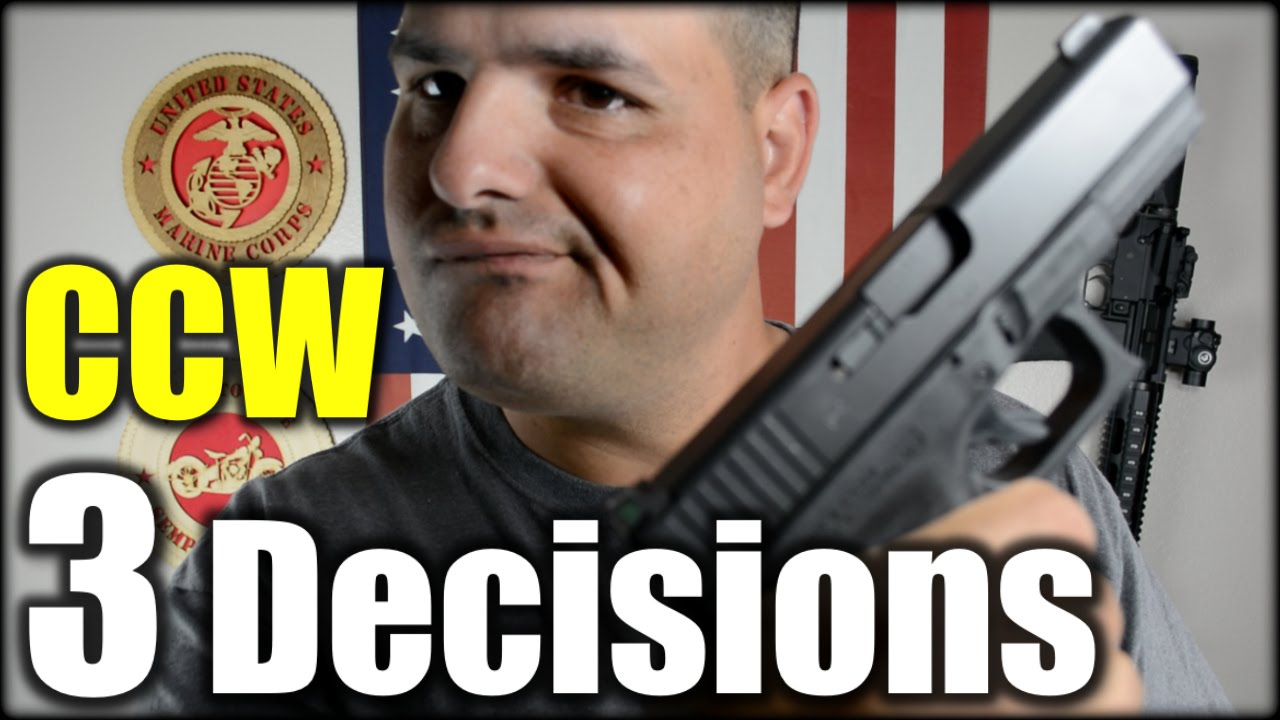 Concealed Carry: 3 Decisions You Need to Make| New Shooter Series