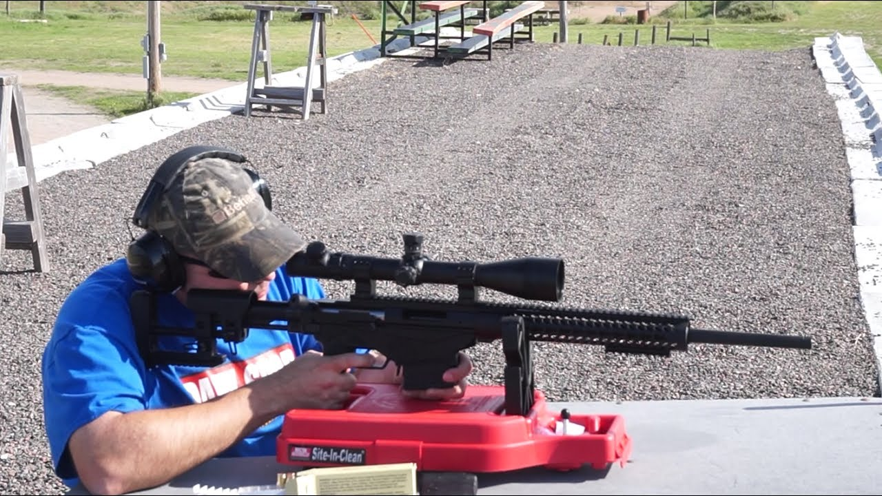 Ruger Precision Rifle .308 Win. basic accuracy test and range report.