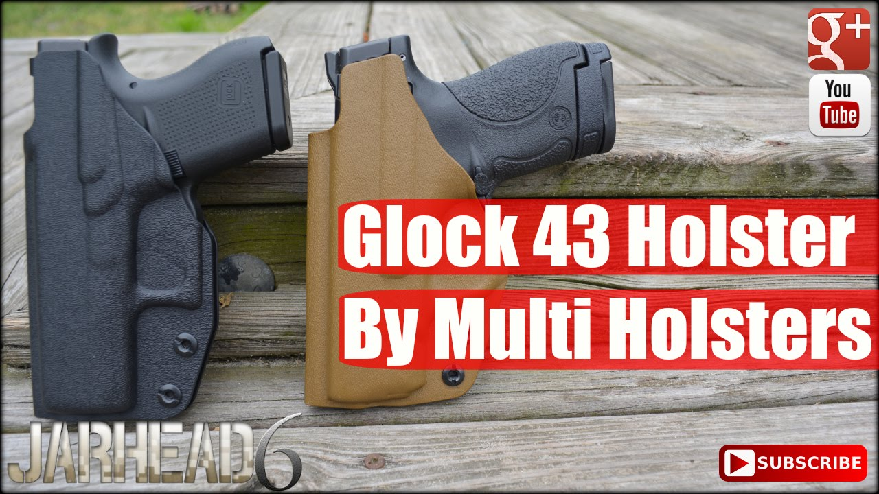 Glock 43: EDC Elite Holster by Multi Holsters