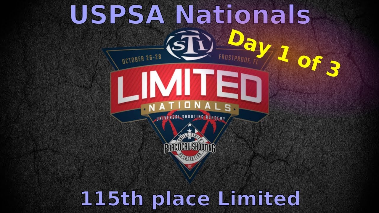 USPSA Limited Nationals 2018 - Limited - Day 1/3