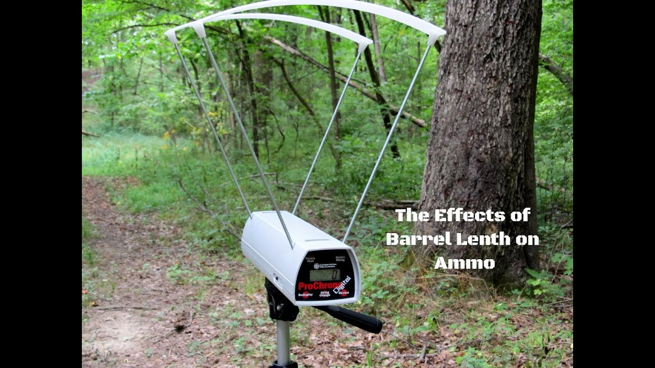 The Effects of Barrel Length on Ammo