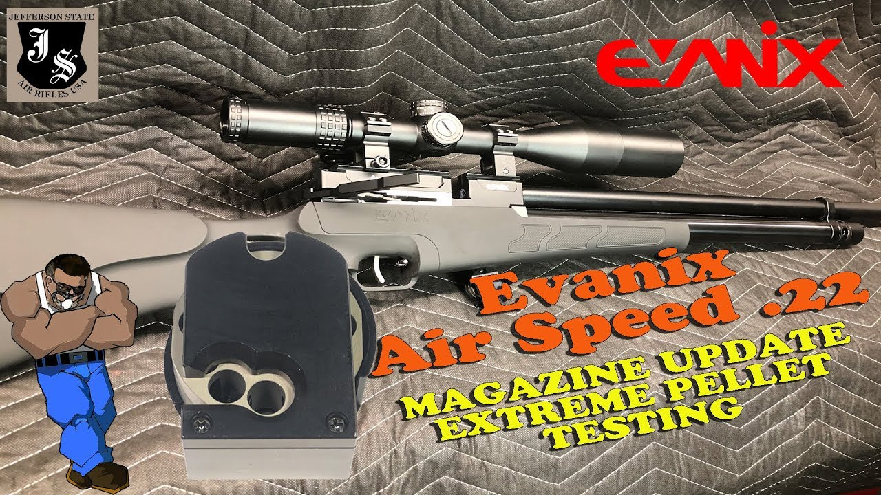 Evanix Air Speed Update: New Magazine Design