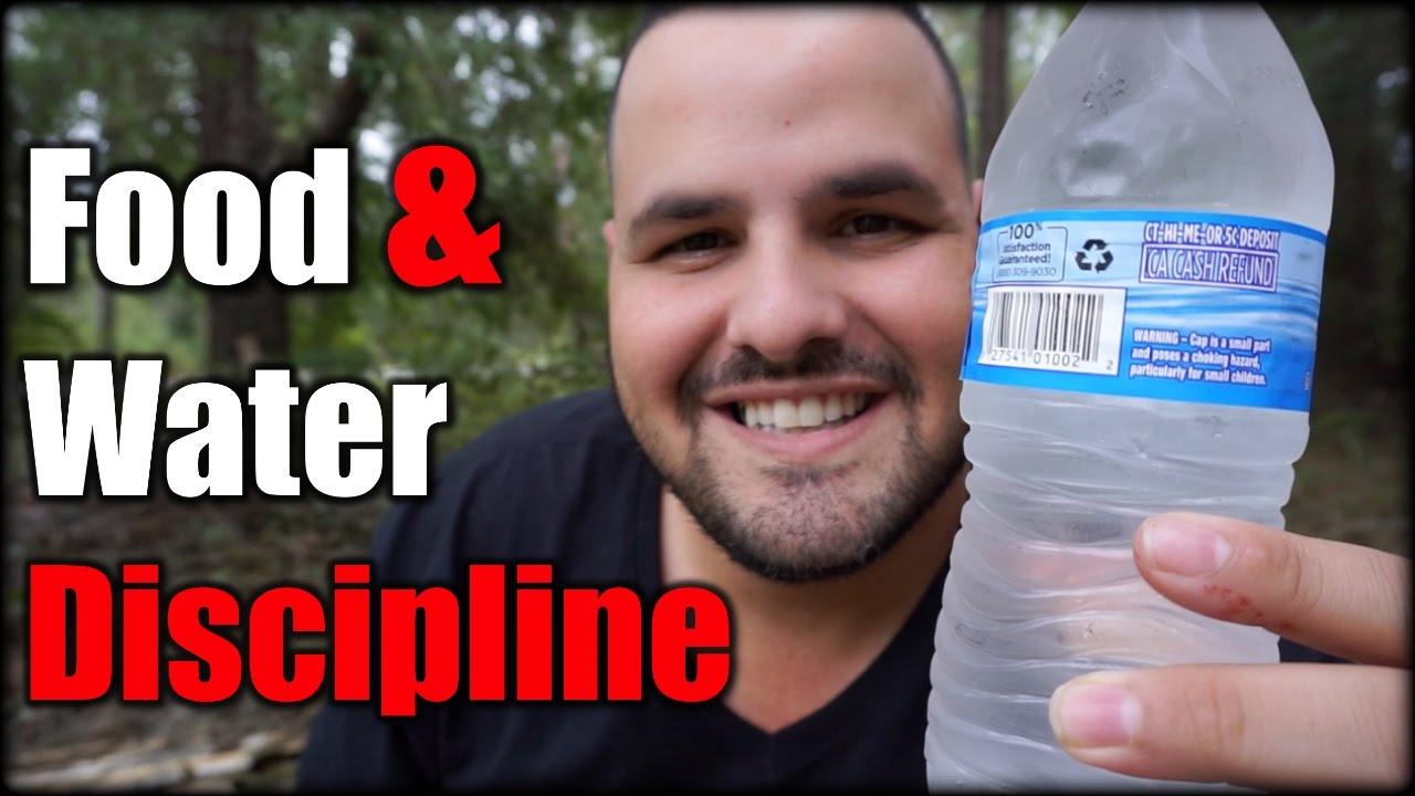 Food & Water Discipline During an Emergency| Hurricane Matthew