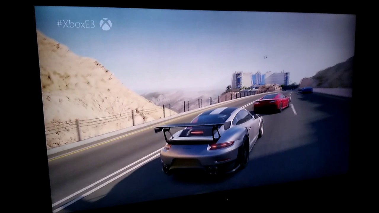 XBOX One X Forza 7 E3 exclusive footage, first look!
