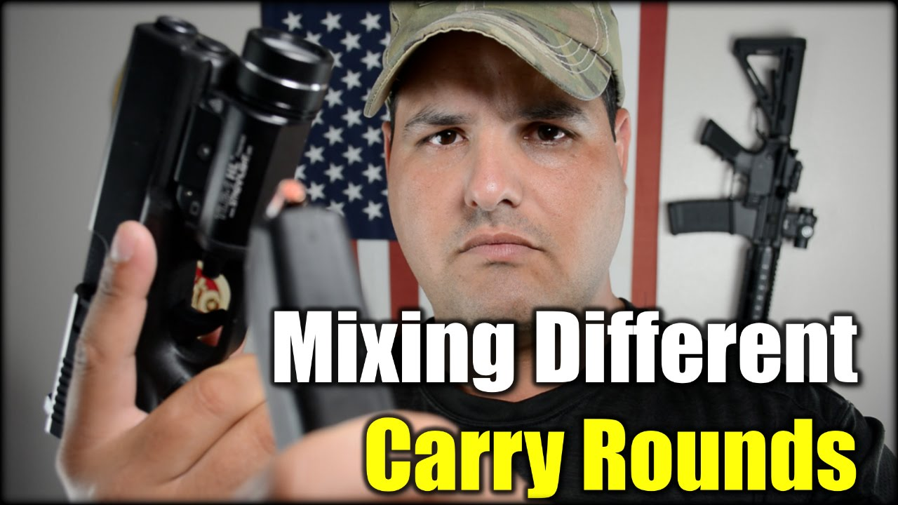 Mixing Different Carry Rounds| Bad Idea?