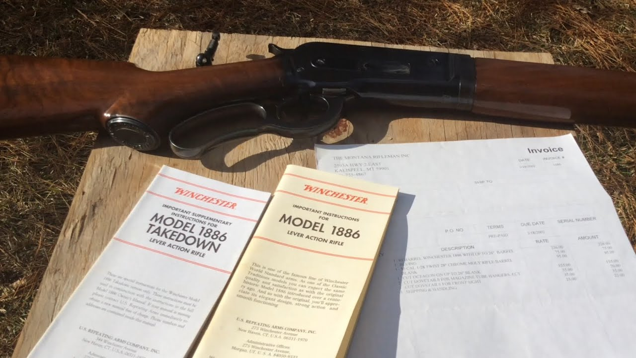 The story behind my 1886 Winchester 50-110 WCF,