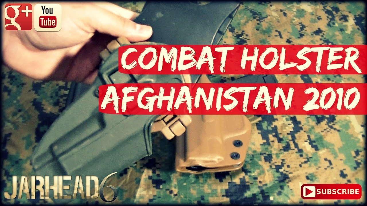 Combat Holster: Afghanistan 2010