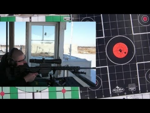Ruger Precision Rifle 6.5 Creedmoor/Burris Eliminator 3  Range Test!