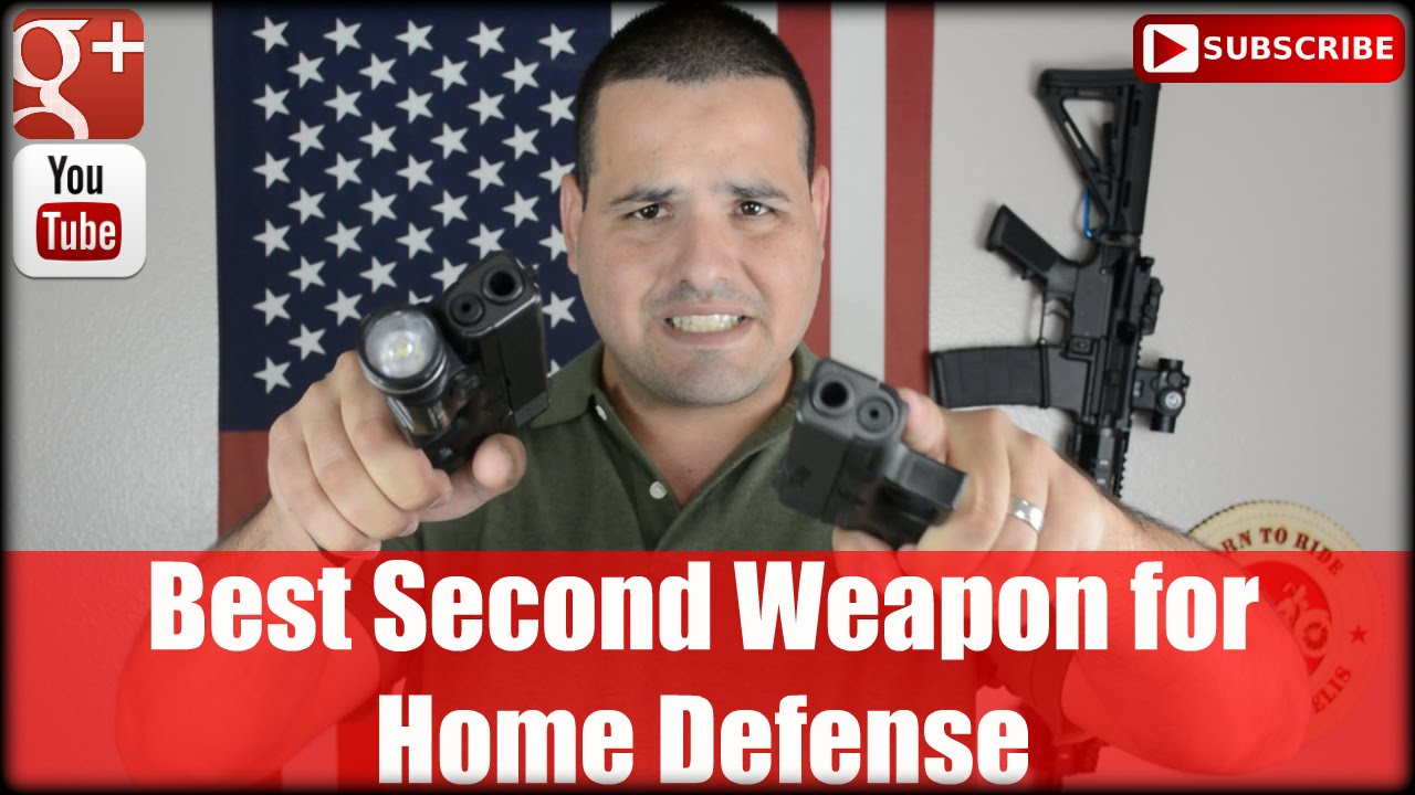 The Best Second Weapon for Home Defense