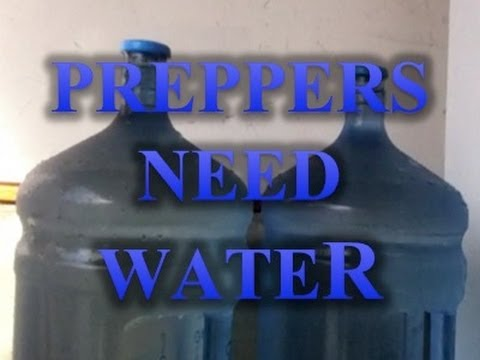 Preppers Need Water