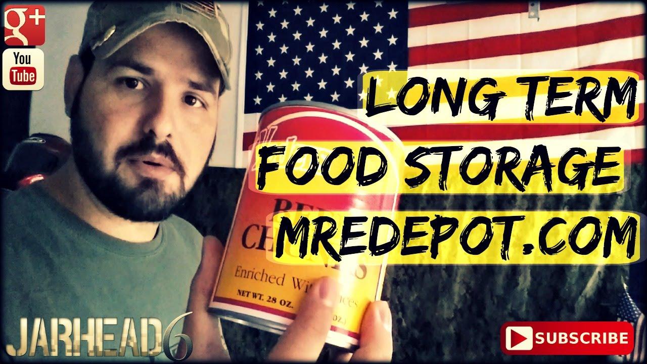 Long Term Food Storage: MREDepot.com