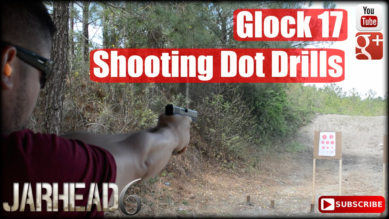 Glock 17 Shooting Dot Drills