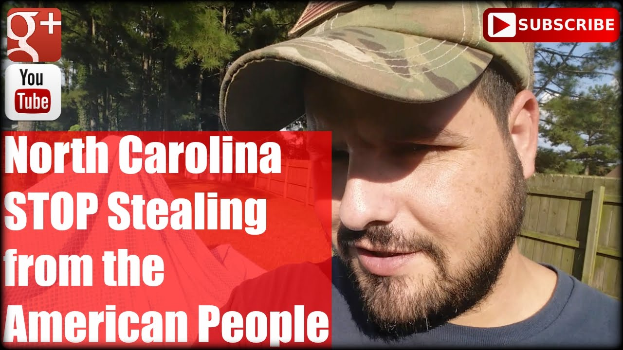 North Carolina STOP Stealing from the American People