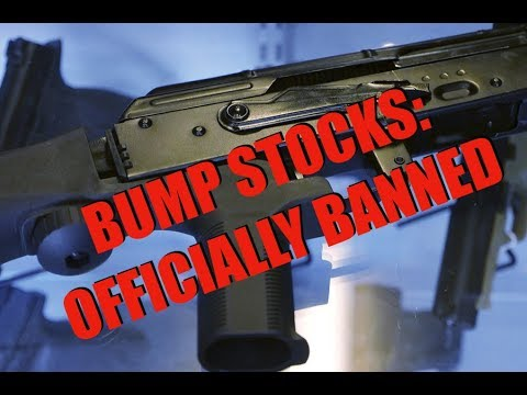 It's Official: Trump Bans Bump Stock, GOA Files Lawsuit