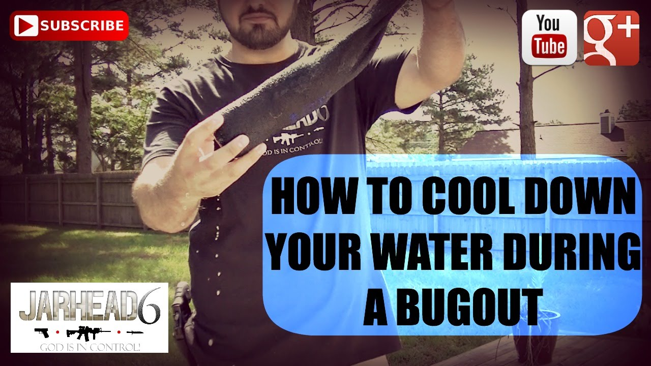 How to Cool Down Your Water During a Bugout!
