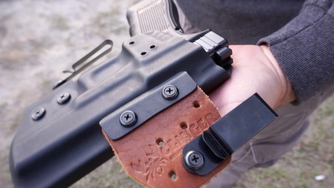 Clinger No Print Wonder Glock 17 Holster