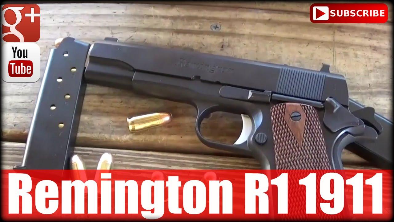 Remington R1 1911: First Shots