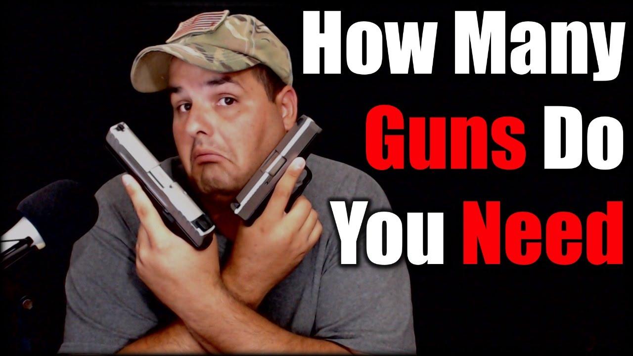 How Many Guns Do you Need| Prepper Talk