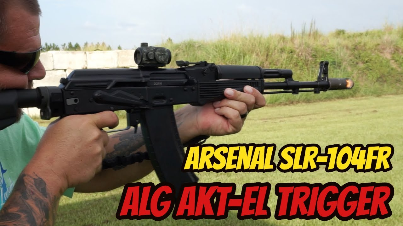 Arsenal SLR 104FR AK-74  ALG AKT-EL Trigger