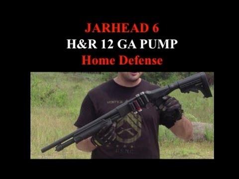 H & R 12 Gauge Shotgun for Home Defense
