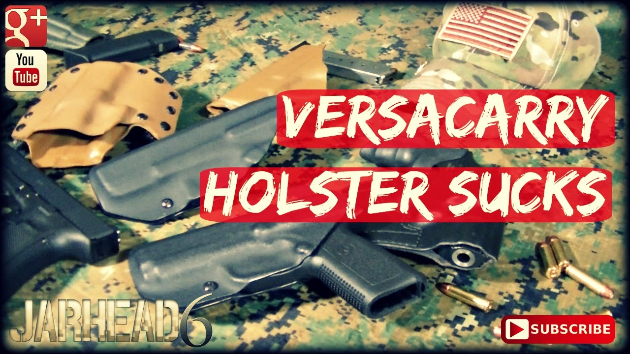 Versacarry Sucks: Holsters 101!