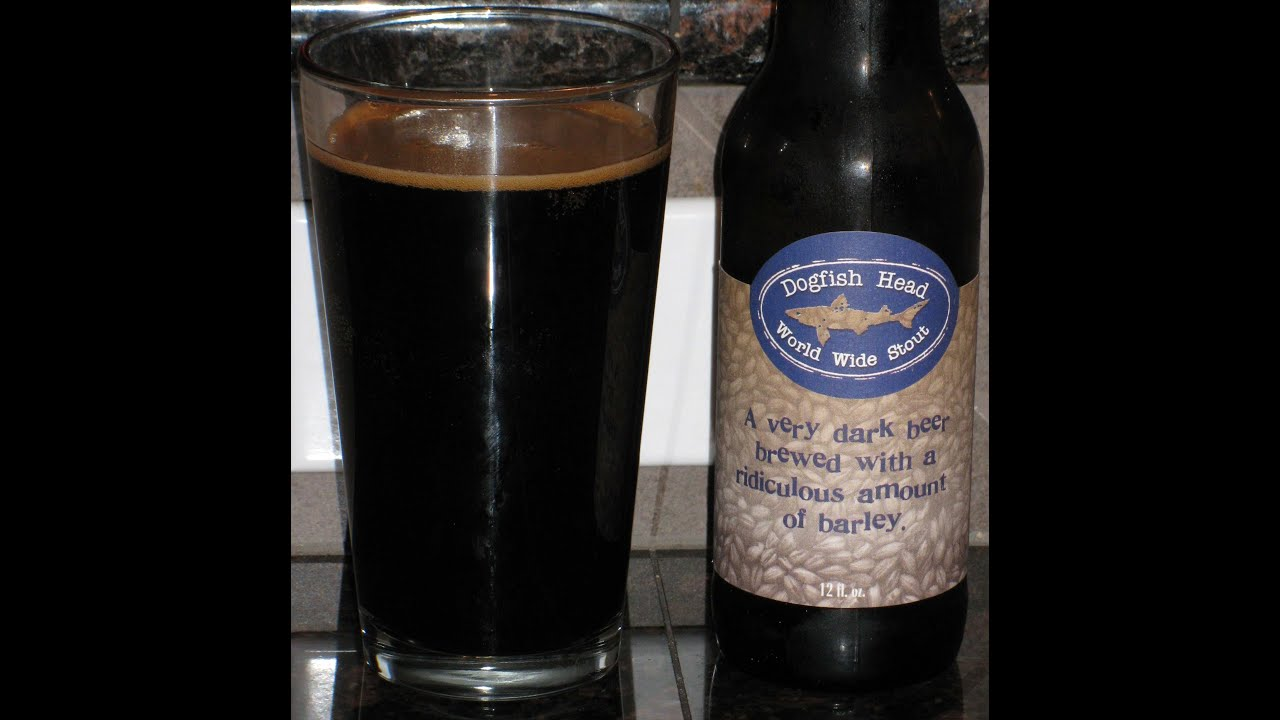 World Wide Stout from Dogfish Head