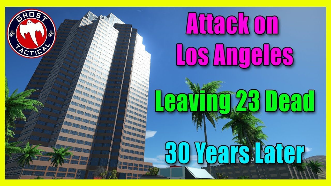 30th Anniversary of the L.A. Attack That Left 23 Dead:  Never Forget