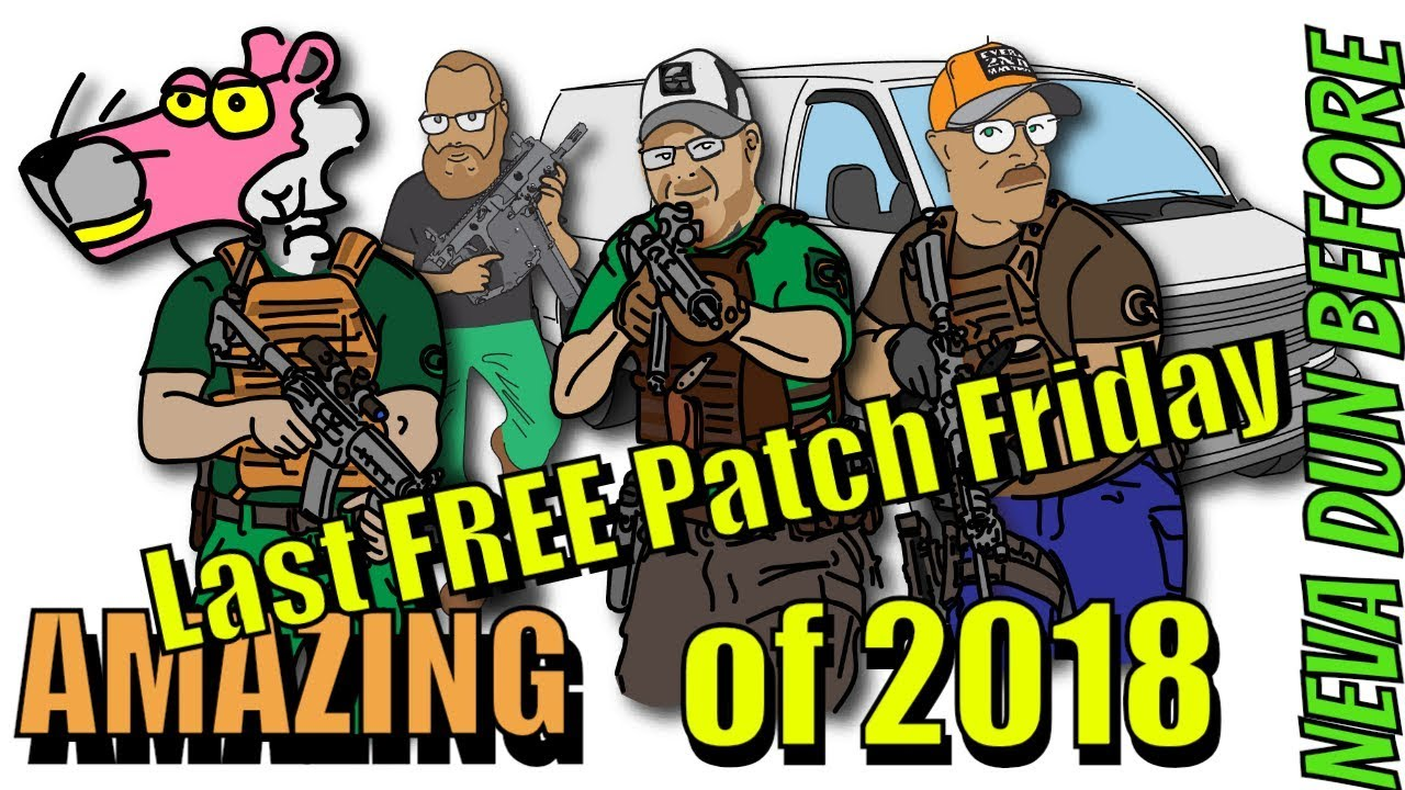 Last FREE Patch Friday of 2018 GearWebsites.com Tactical Stocking Thank You Gifts