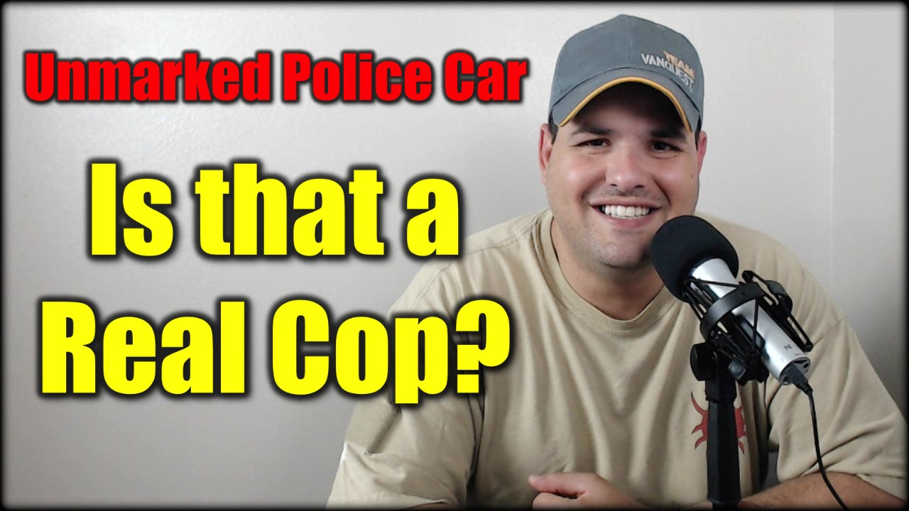Unmarked Police Car: Is that a Real Cop? Fire Watch EP #35