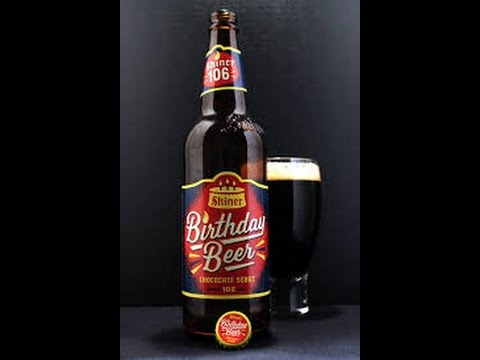 Birthday Beer Chocolate Stout from Shiner
