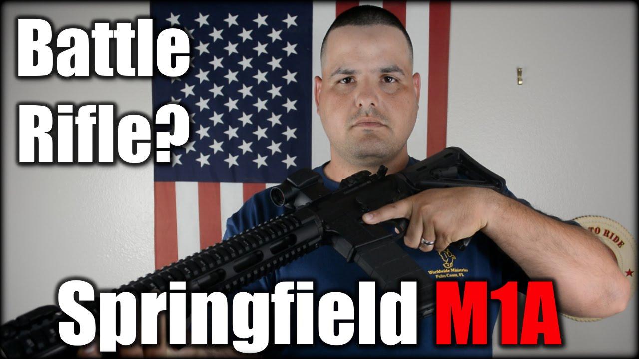 Springfield M1A SOCOM 16 as a Battle Rifle?