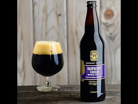 Raspberry Russian Imperial Stout from Widmer Brother's