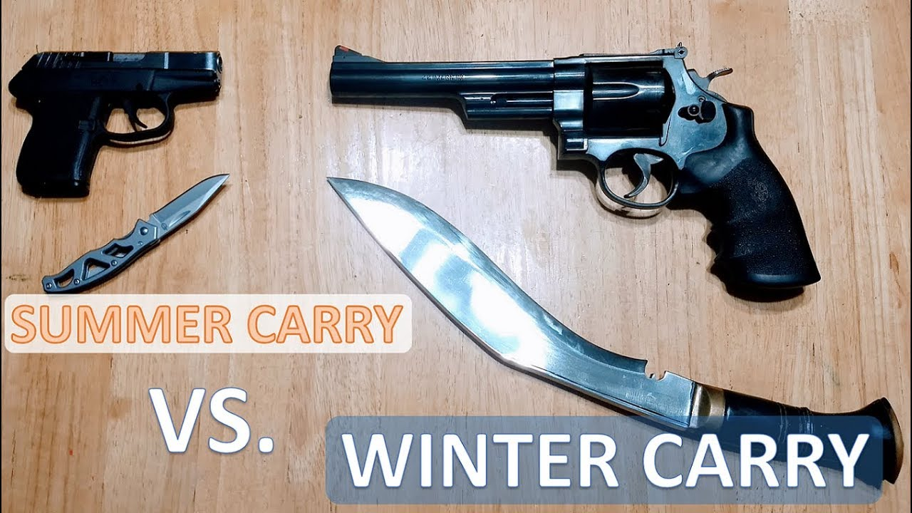 Summer vs Winter Carry - The Peck's 2A America Cold Weather Carry Gun Challenge