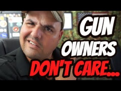 Gun Owners Don't Care about your Safety