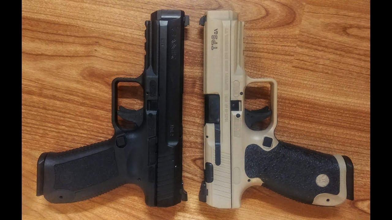 Canik TP9SA vs TP9SA Mod2