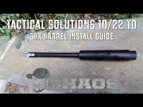 Tactical Solutions 10/22 TD SBX Barrel - Install Guide