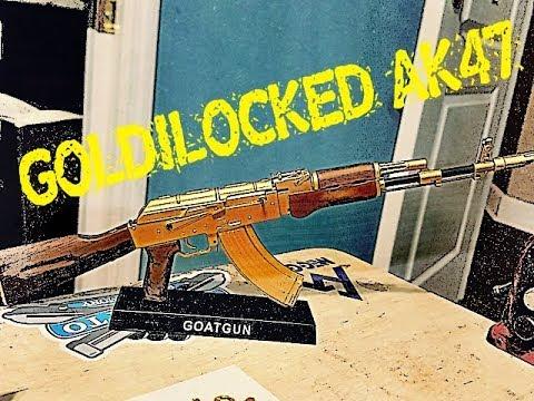 GOLD AK47 REPLICA BUILD!!