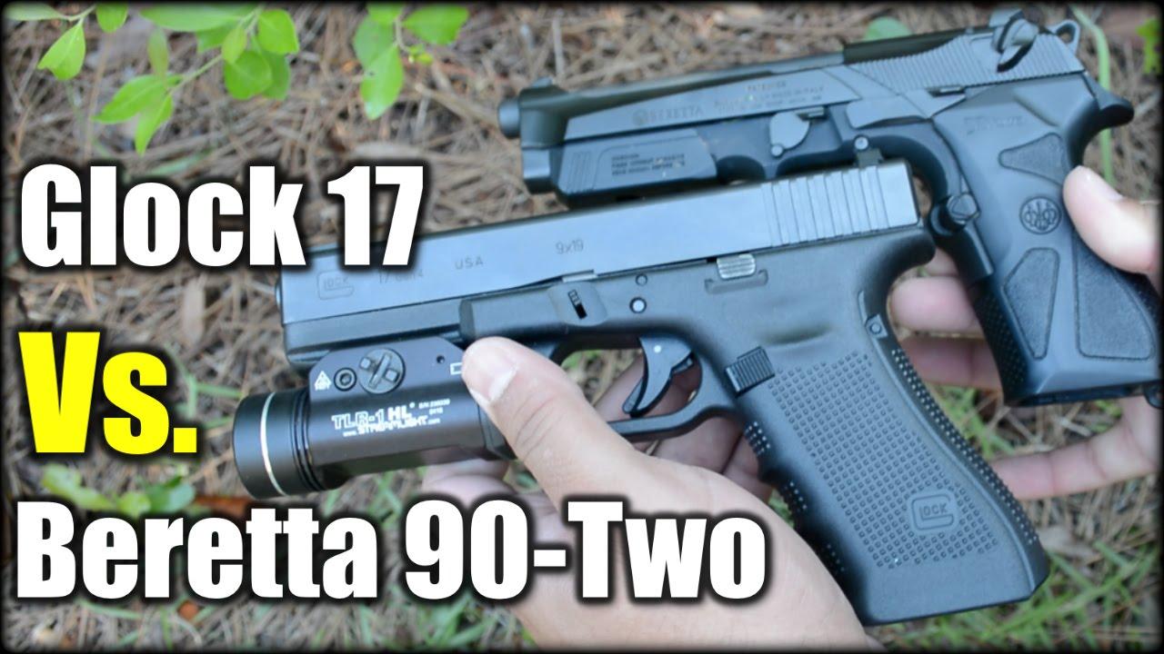 Glock 17 Vs. Beretta 90-Two| the Winner is...