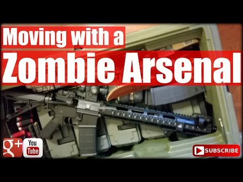 Moving with a Zombie Arsenal