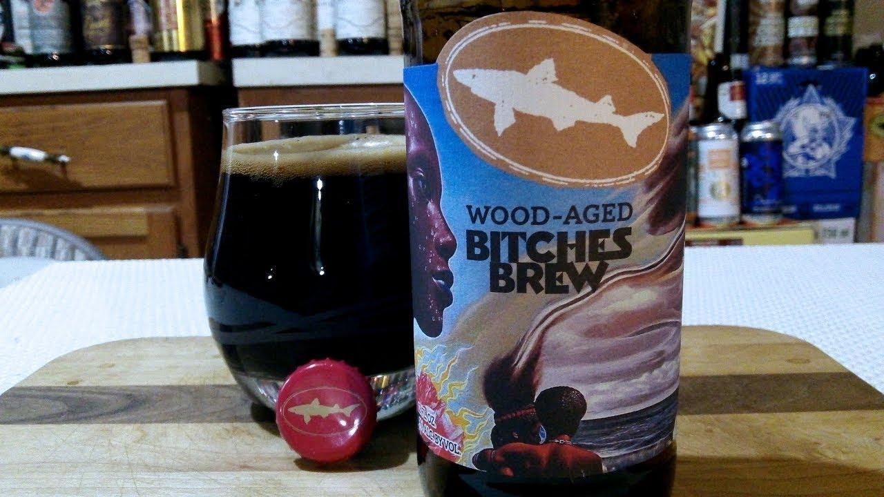Wood Aged BITCHES BREW from Dogfish Head