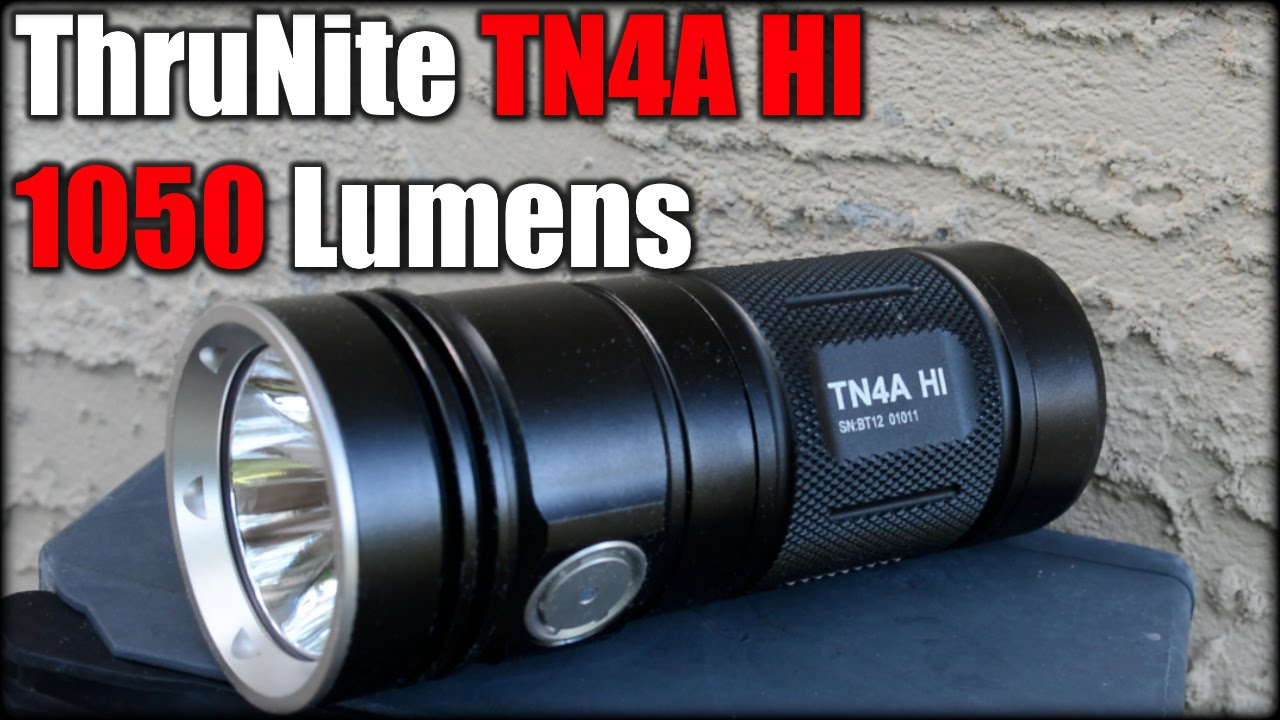 ThruNite TN4A HI| 1050 Lumens Flashlight